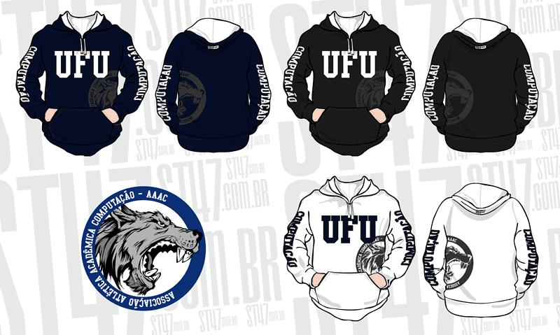 Atlética UFU 2014 - Moda personalizada universitária  4f6930dda5076