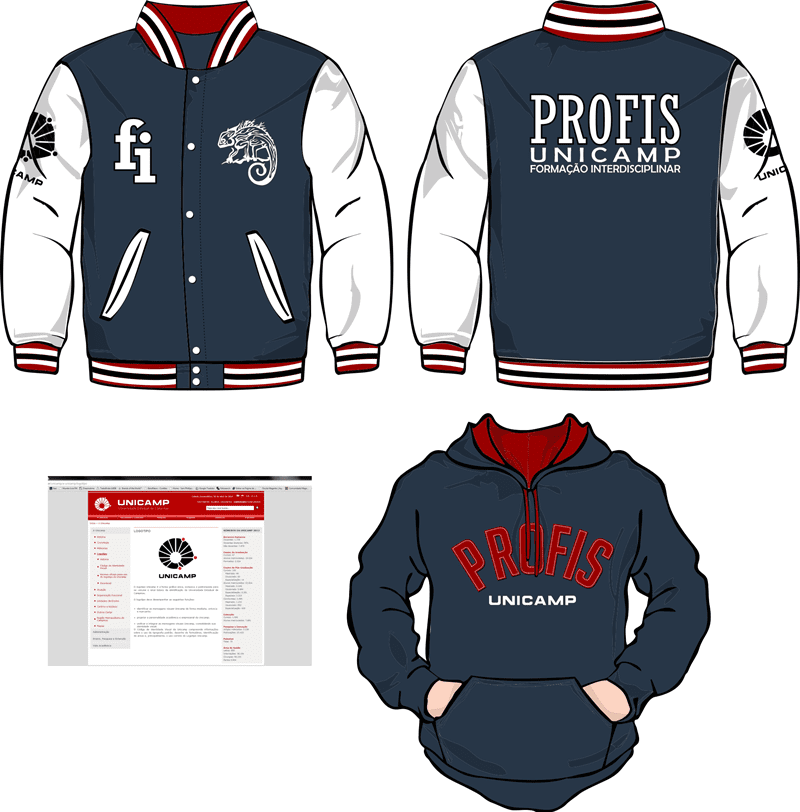 Atlética UNICAMP PROFIS 2014 2 - Moda personalizada universitária  8198b6dd07270
