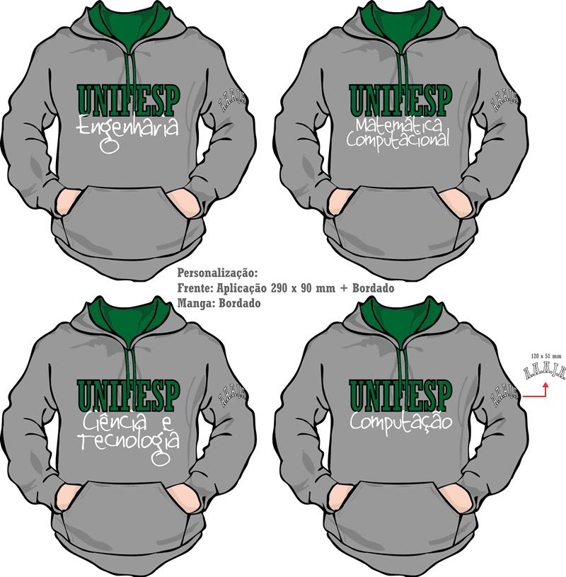 Atlética UNIFESP 2013 - Moda personalizada universitária  b4dfc8187ccb8
