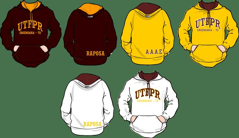 Atlética UTFPR TD 2014 - Moda personalizada universitária  a54af59e07b8b
