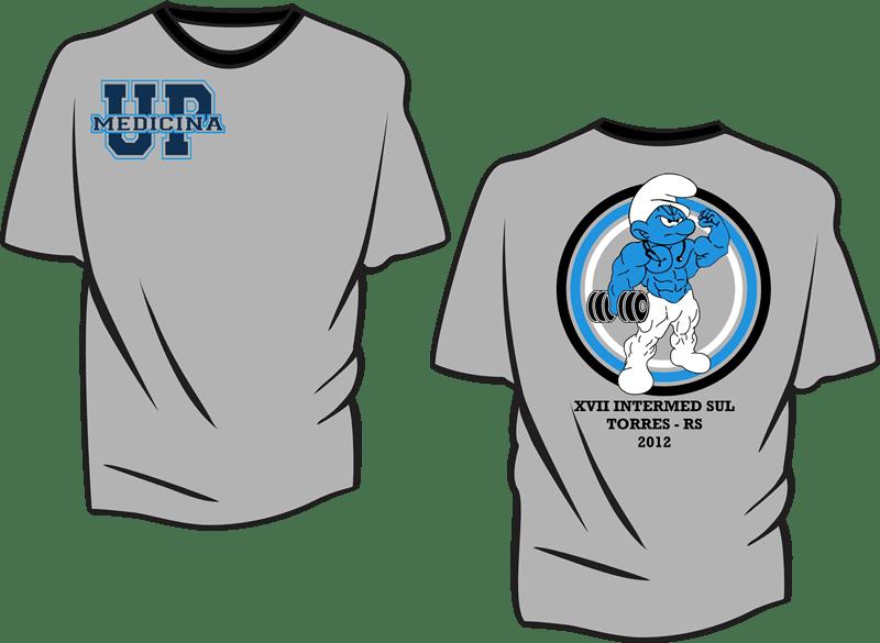 Camisetas - Atlética 2 - Moda personalizada universitária  0b7d8d3f32d36
