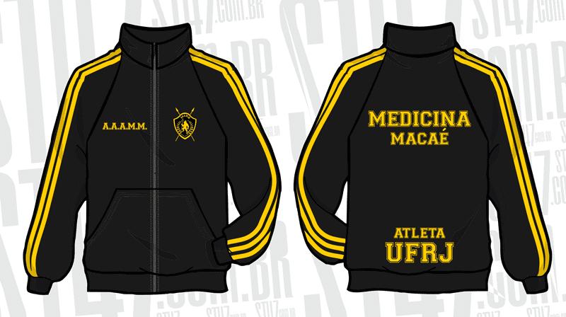 Medicina Atlética Jaqueta Esportiva 2014 - Moda personalizada ... 31c2b55f9e87c