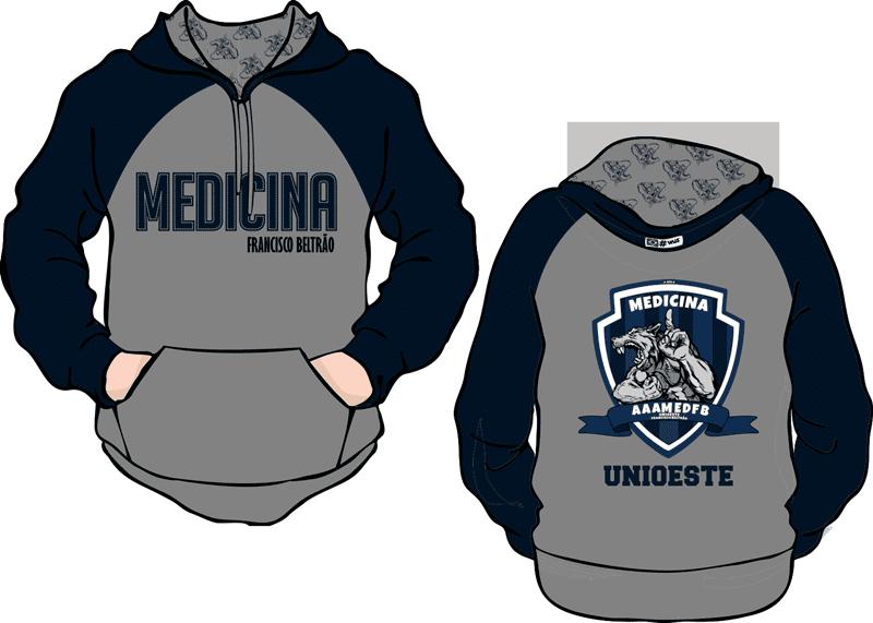 Medicina UNIOESTE 2014 Atlética - Moda personalizada universitária ... 8c8ce2c5878de