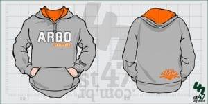 Moletom Canguru Personalizado ARBO CrossFit
